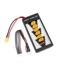 Adaptador carga múltiple en paralelo 6 baterias LIPO