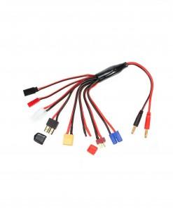 Cable de carga baterías LIPO conector múltiple