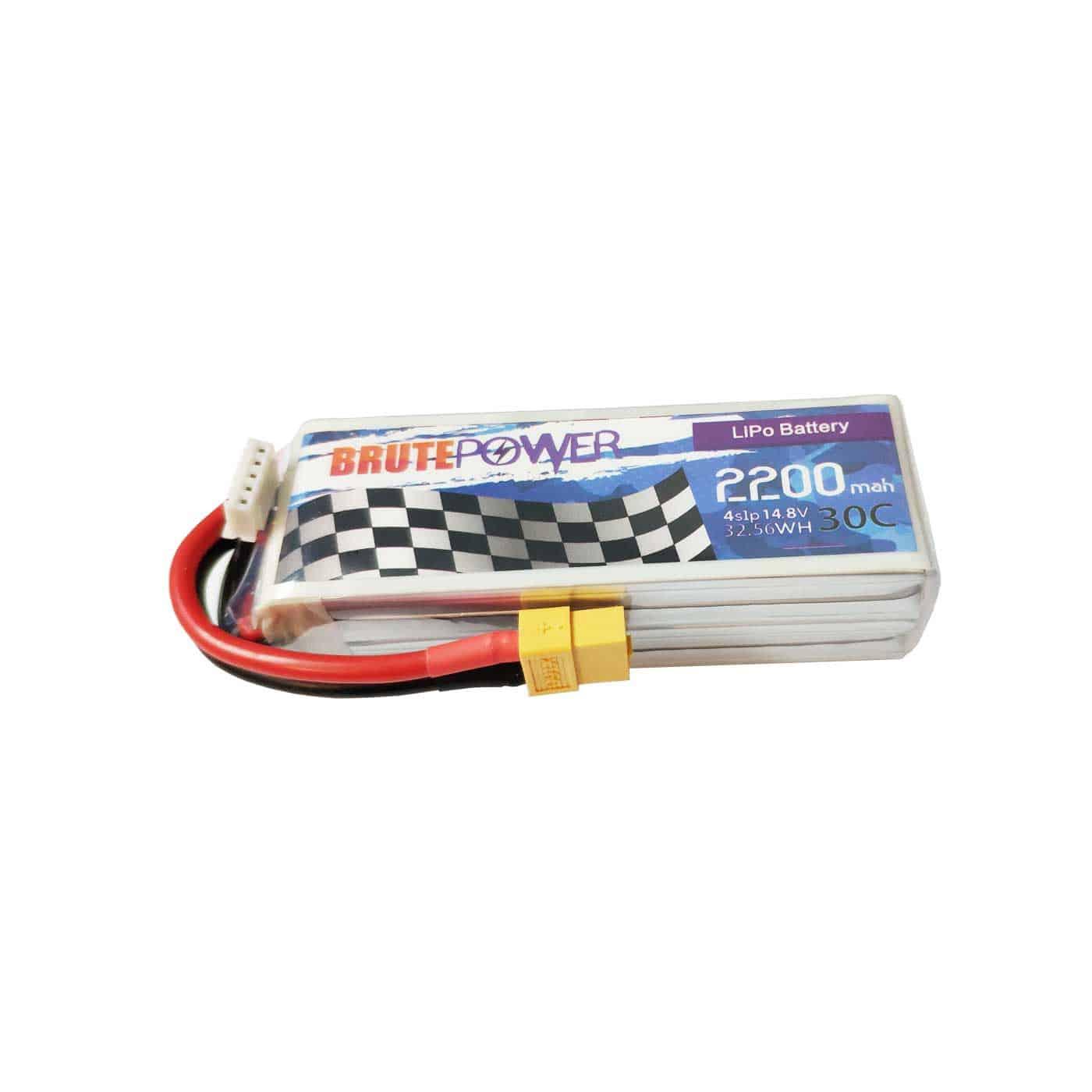 batería lipo brutepower 4s 2200mah 30C