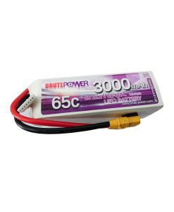 Batería-LIPO-6s-3000mah-65C-BrutePower