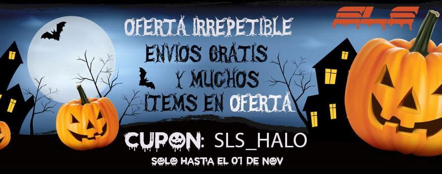 oferta halloween SLS