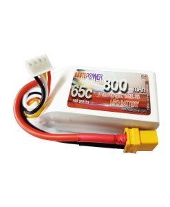 Batería LIpo 3s 800mah 65C