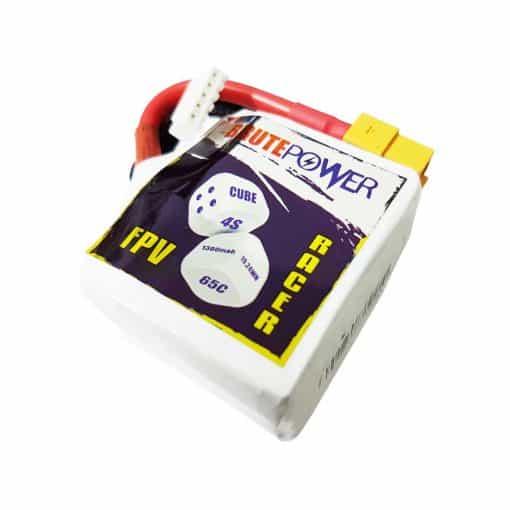 batería lipo 4s 1300mah 65C Cube
