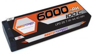 2s 6000mah 100C