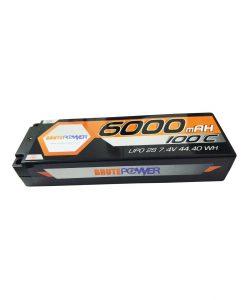 batería 2s 6000mah 100C