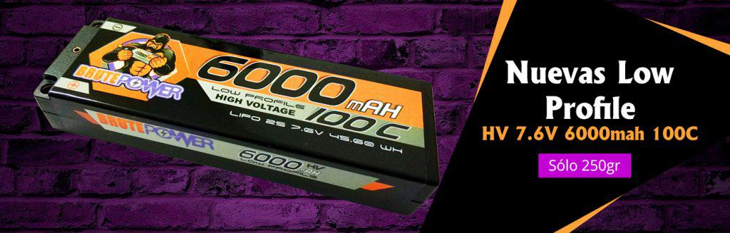 Brutepower LowProfile 2s 6000mah