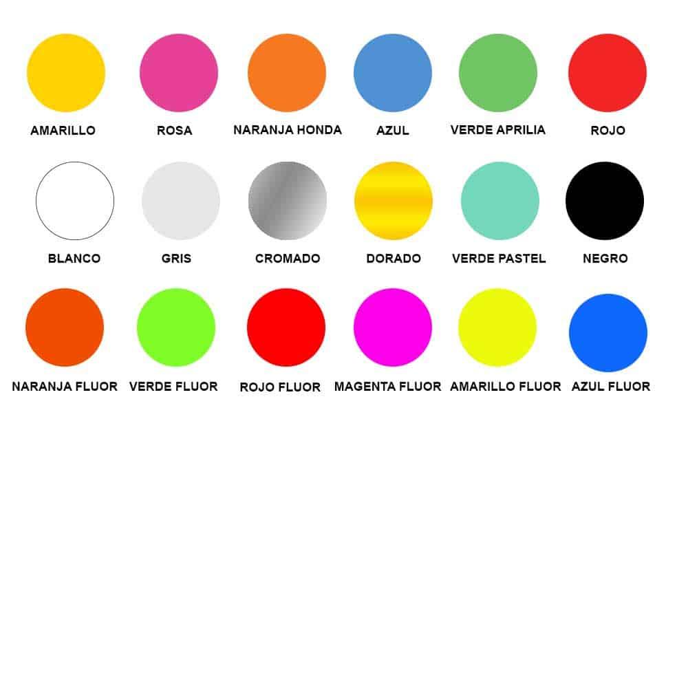Colores en spray