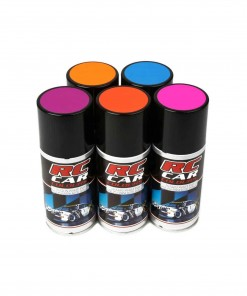 Spray lexan color