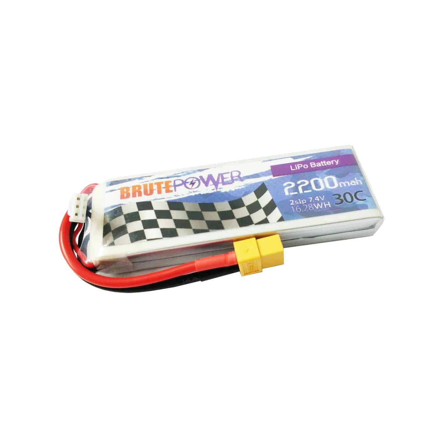 Batería Lipo Brutepower 2s 2200mah