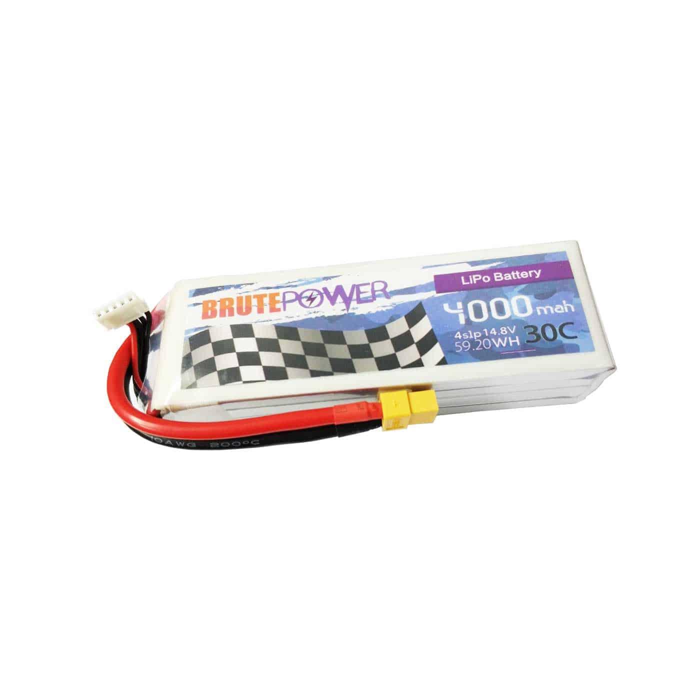 Batería Lipo 4s 4000mah 30C