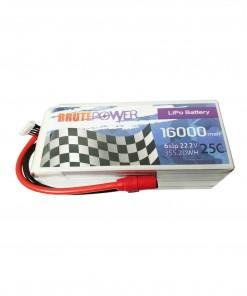 Batería Lipo 6s 16000mah