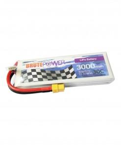 Batería Lipo 3s 3000mah 30C