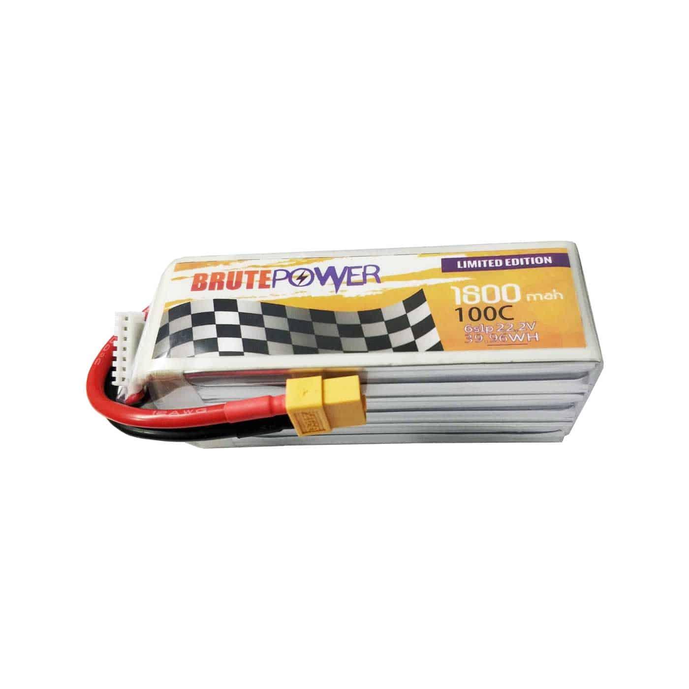 batería lipo brutepower 6s 1800mah 100c