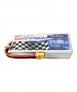 batería lipo brutepower 4s 10000mah