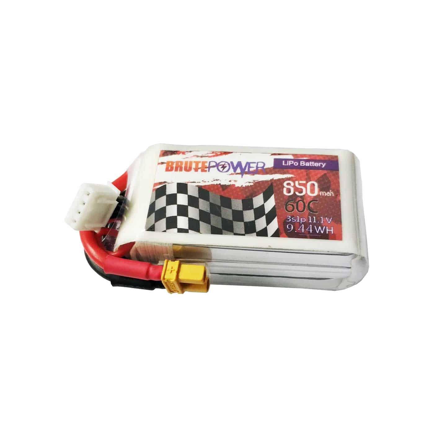 batería lipo 3s 850mah 60c