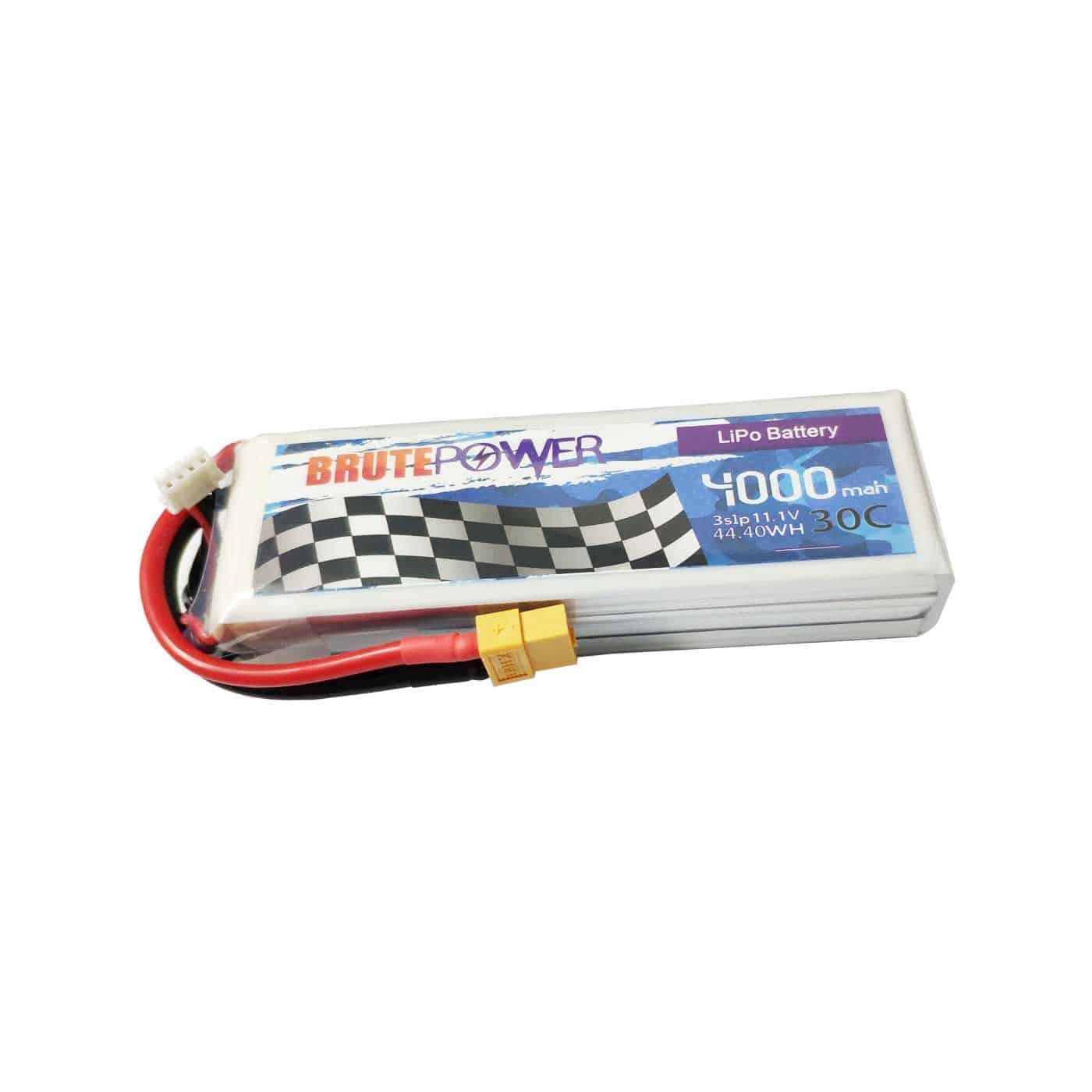 batería lipo 3s 4000mah 30C