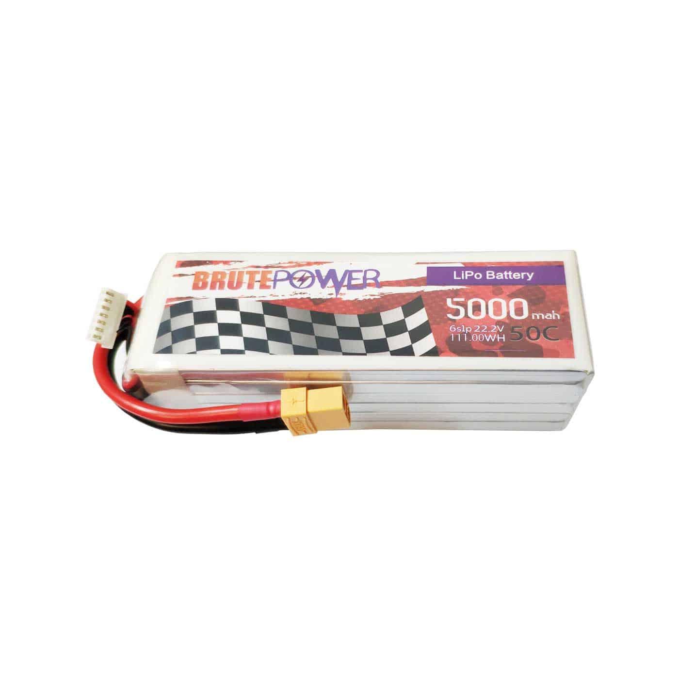 Batería lipo 6s 5000mah