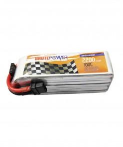 batería lipo brutepower 5s 2200mah 100C