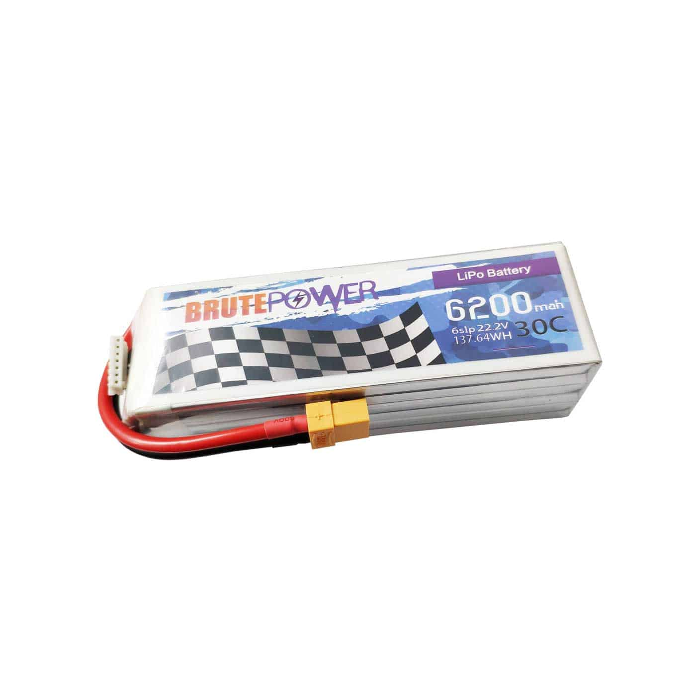 batería lipo 6s 6200mah