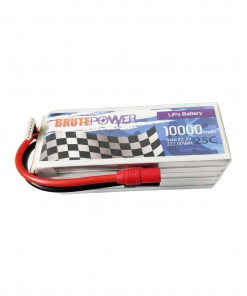 batería lipo brutepower 6s 10000mah