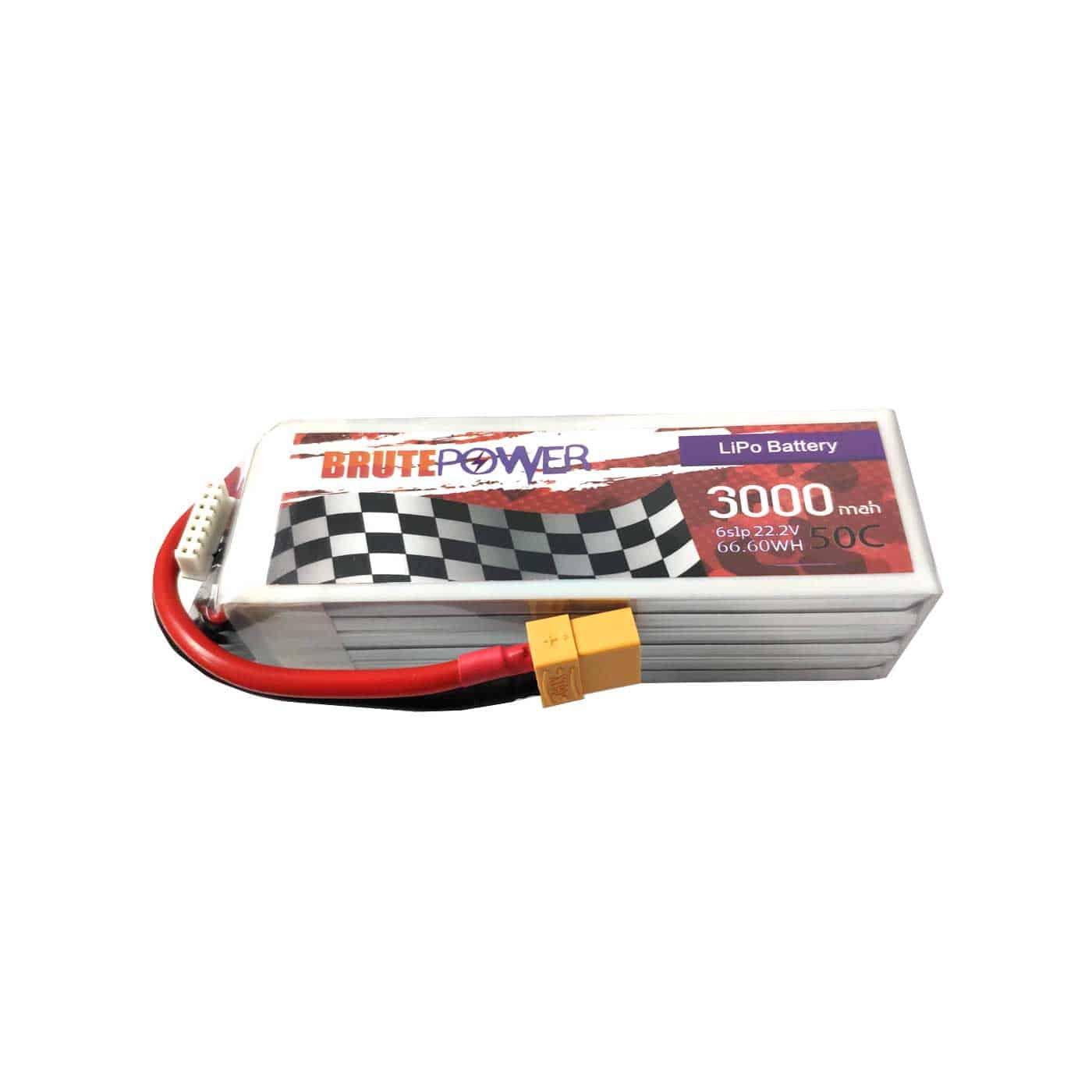 batería 6s 3000mah 50C