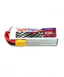 Batería Lipo Brutepower 6s 3000mah 50C