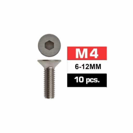 Tornillo avellanado M4