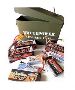 caja seguridad baterías LIPO
