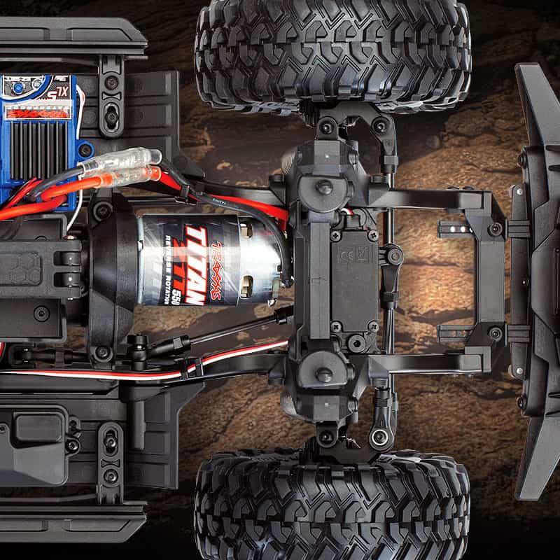 posicion motor Traxxas TRX-4 SPORT