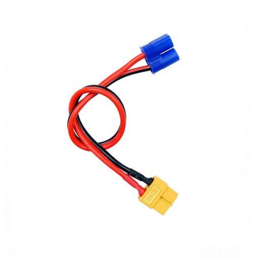 cable de carga XT60 para baterías con conector EC3