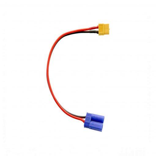 Cable de carga xt60 para baterías con conector EC5