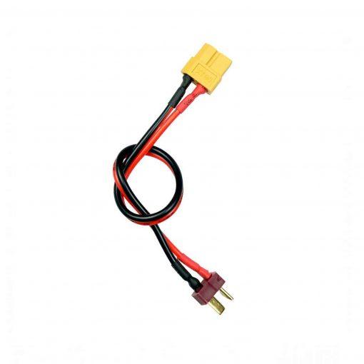 Cable de carga para cargadores con salida XT60, para cargar baterías con conector TDEANS