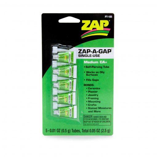 ciano de un solo uso ZAP