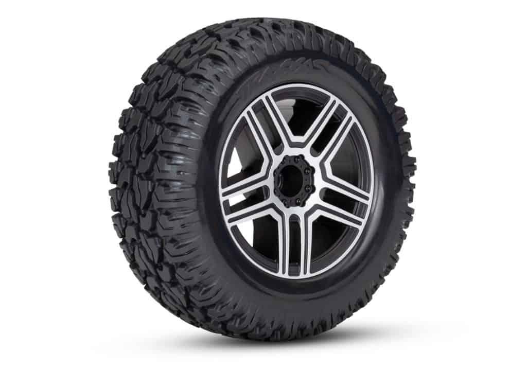 Traxxas Mercedes G500 ruedas