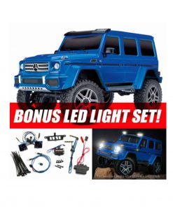 TRAXXAS TRX-4 Mercedes G500 4x4 Blue RTR LED