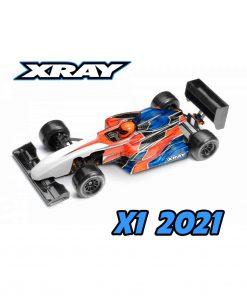XRAY X1 2021 LUXURY 1/10 FORMULA