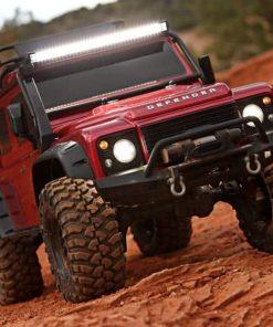 Kit luces delanteras traseras Traxxas TRX4 Defender