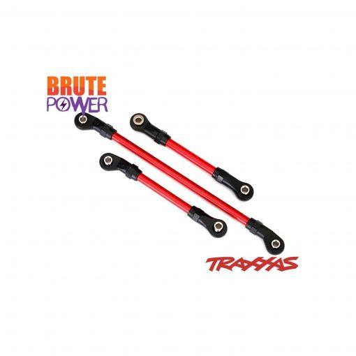 Link de direccion rojo para Traxxas TRX4