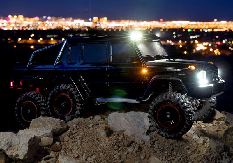 iluminación led Traxxas TRX6