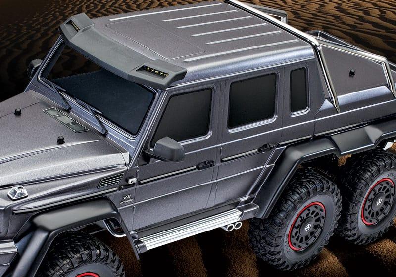 detalles carrocería Traxxas TRX-6