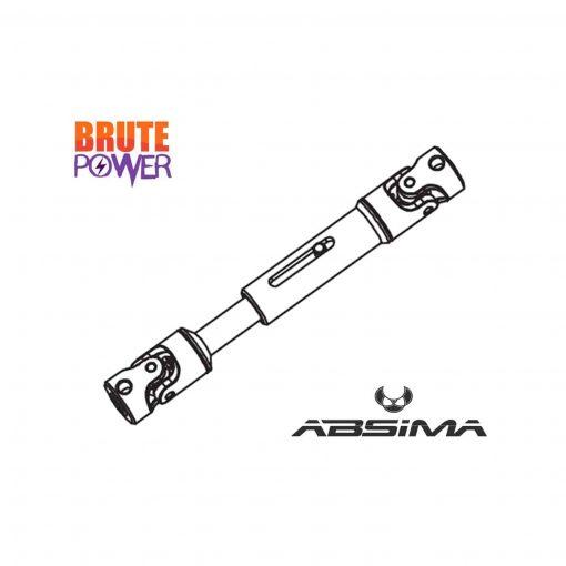 eje universal vertical aluminio