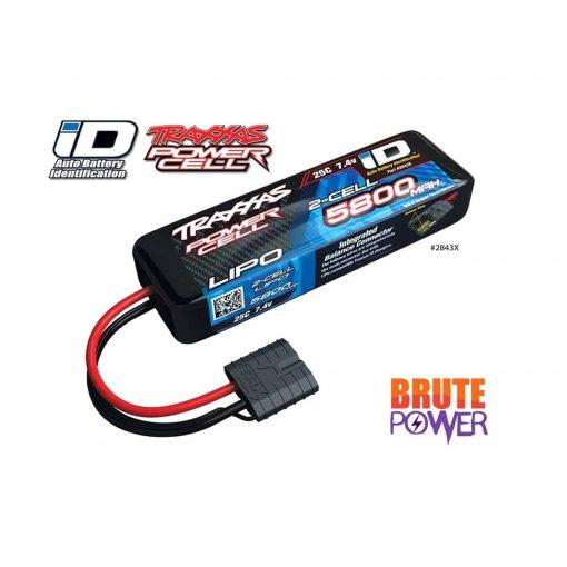 Batería Lipo Traxxas 2s 5800mah