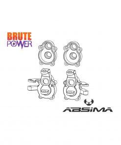 Bloque dirección aluminio para Absima Sherpa