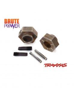 Hexagonos 12mm y pasadores Traxxas TRX4