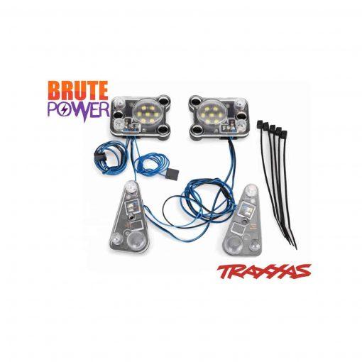 kit de luces delanteras y traseras Traxxas TRX4 Defender