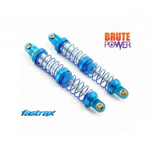 Amortiguadores Fastrax aluminio doble muelle100mm FAST2336