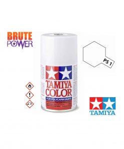 Pintura Spray Tamiya PS-1 blanco