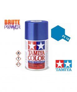 Pintura Spray Tamiya PS-16 azul metalizado