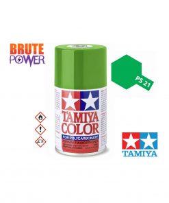 Pintura Spray Tamiya PS-21 verde parque