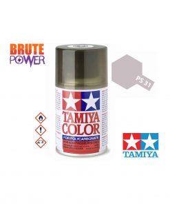 Pintura Spray Tamiya PS-31 humo claro